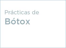 Prácticas de Bótox